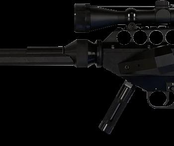 Rifle Tranquilizante Largo Alcance