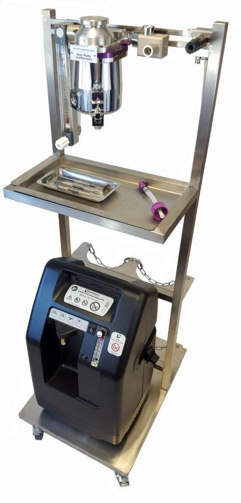Máquina de Anestesia Animales Menores