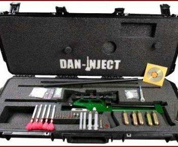 Rifle dardos tranquilizantes CO2