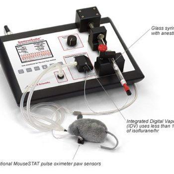 Máquina Anestesia Digital para roedores